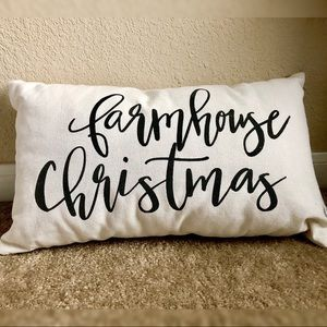 CHRISTMAS FARM HOUSE DECOR PILLOW